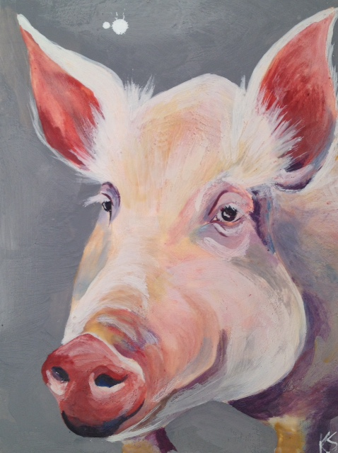 Esther The Wonder Pig 2014
