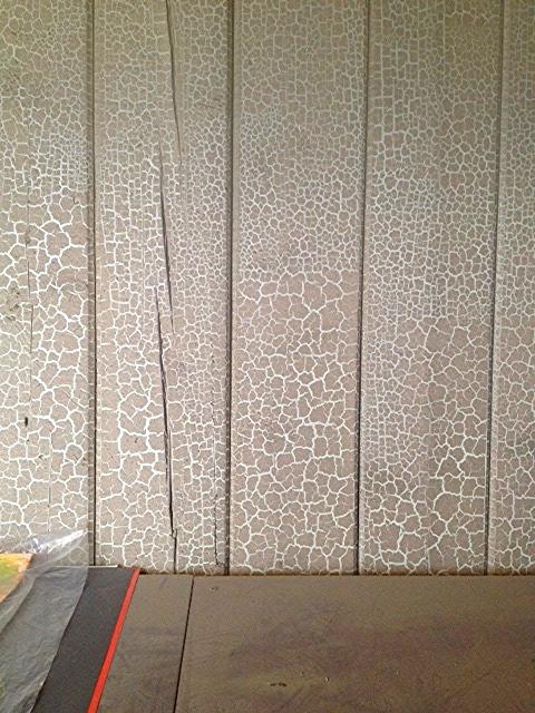 Crackled walls..