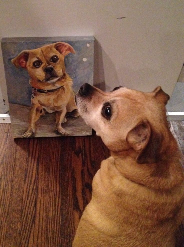 Farley and His Portrait