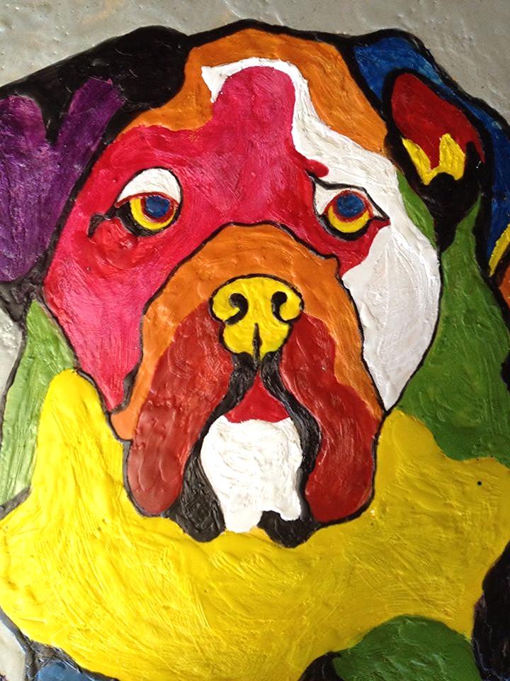 Bennington Bulldog - detail -