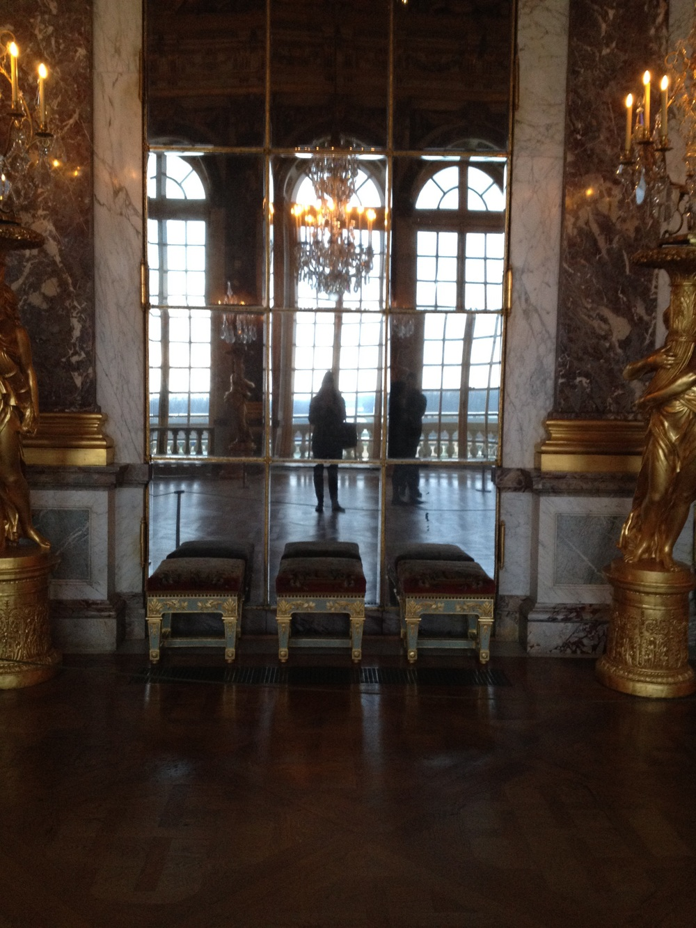 Hall of Mirrors Versailles