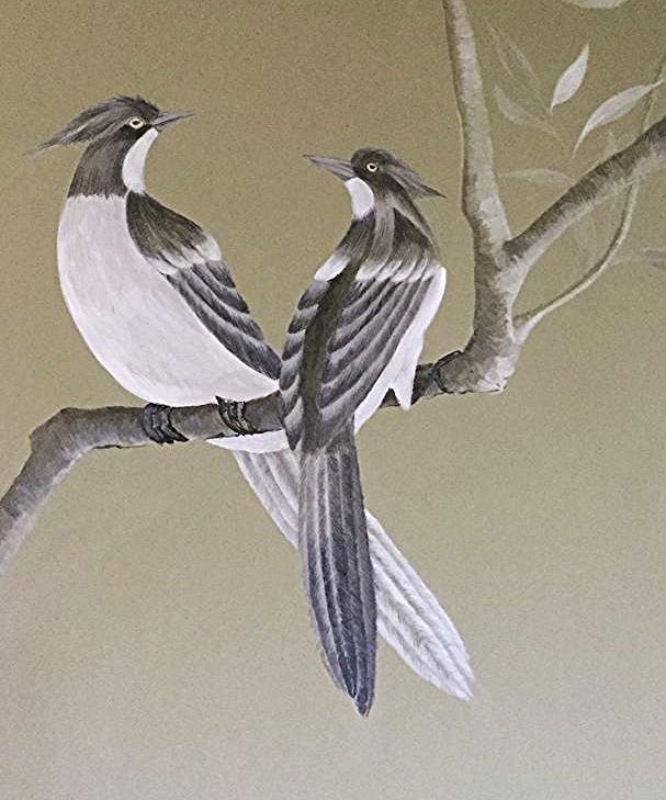 The love birds....