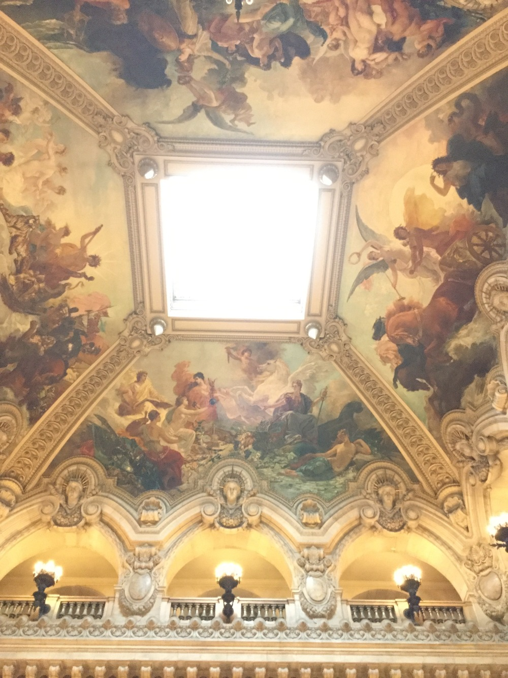 Ceiling of the Grand Escalier