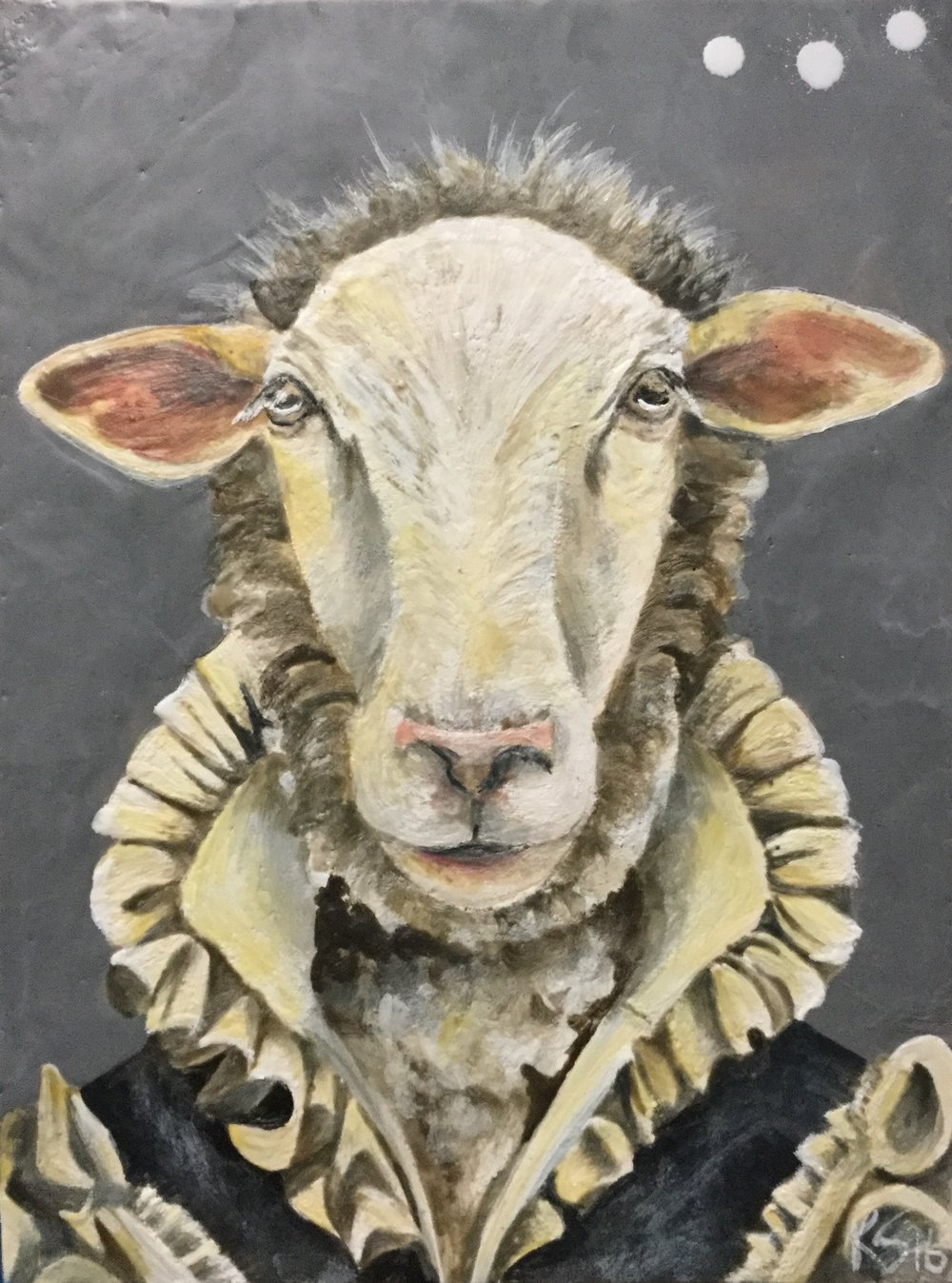 The Ruffled Sheep 2016 SOLD