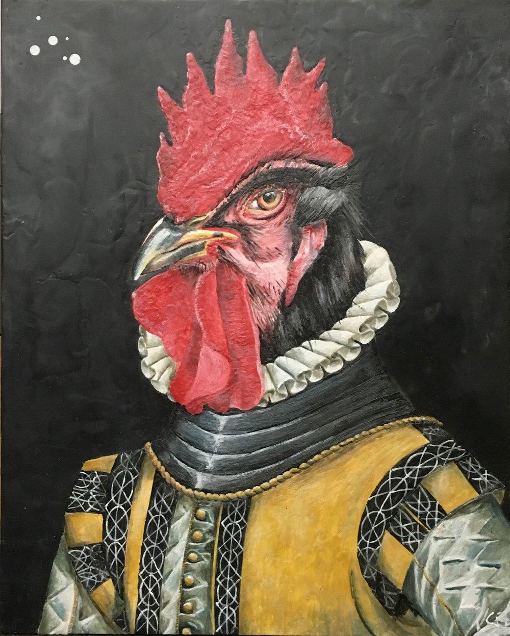 Rene Regent of Rooster 2017 SOLD