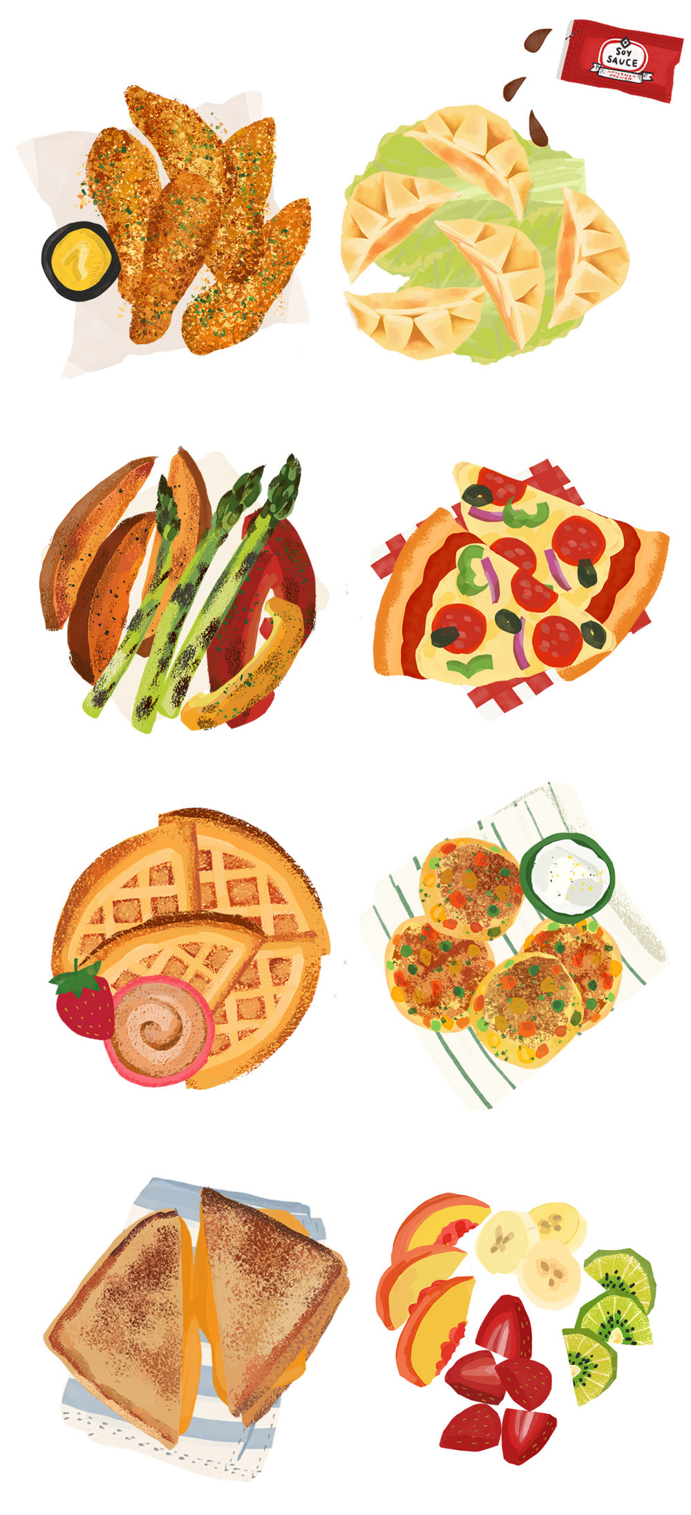 Flo Leung food illustration for Todays Parent.jpg