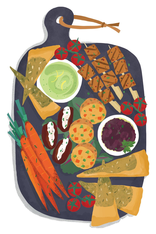 Vegetarian Vegan Board Flo Leung illustration.jpg