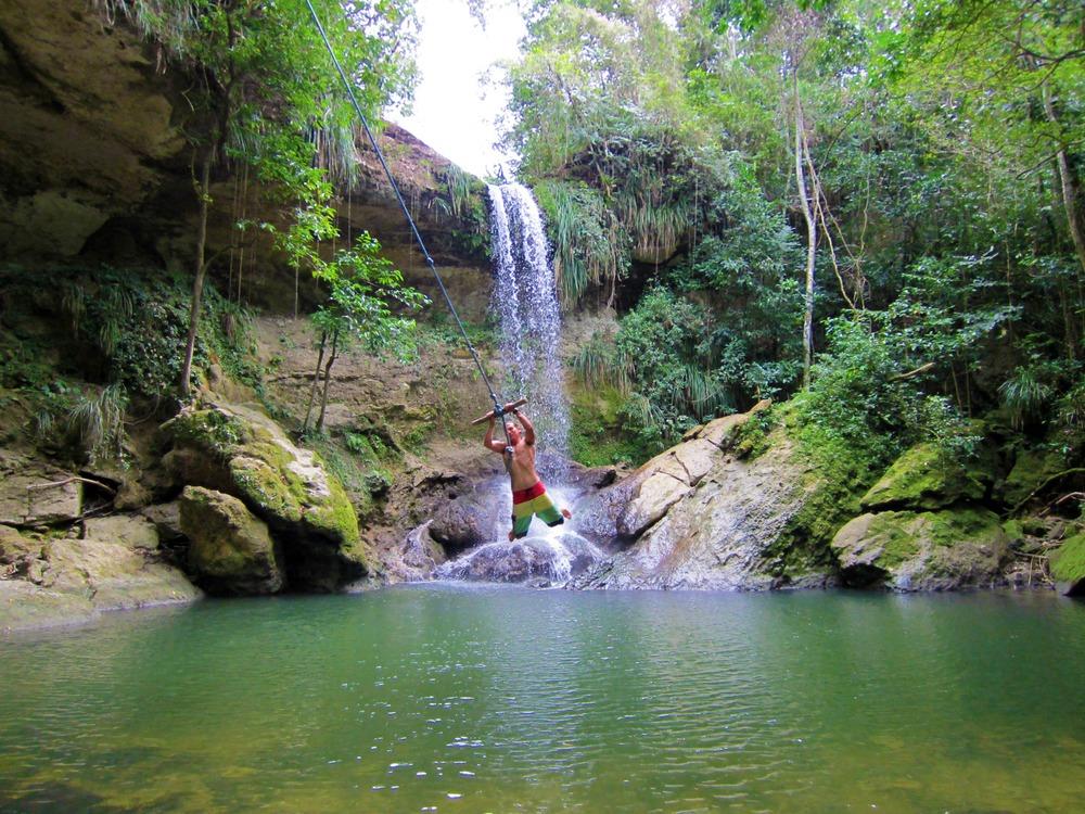 San Sebastian Waterfalls
