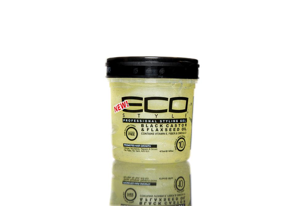 Eco Style Black Castor Amp Flaxseed Gel Ecoco