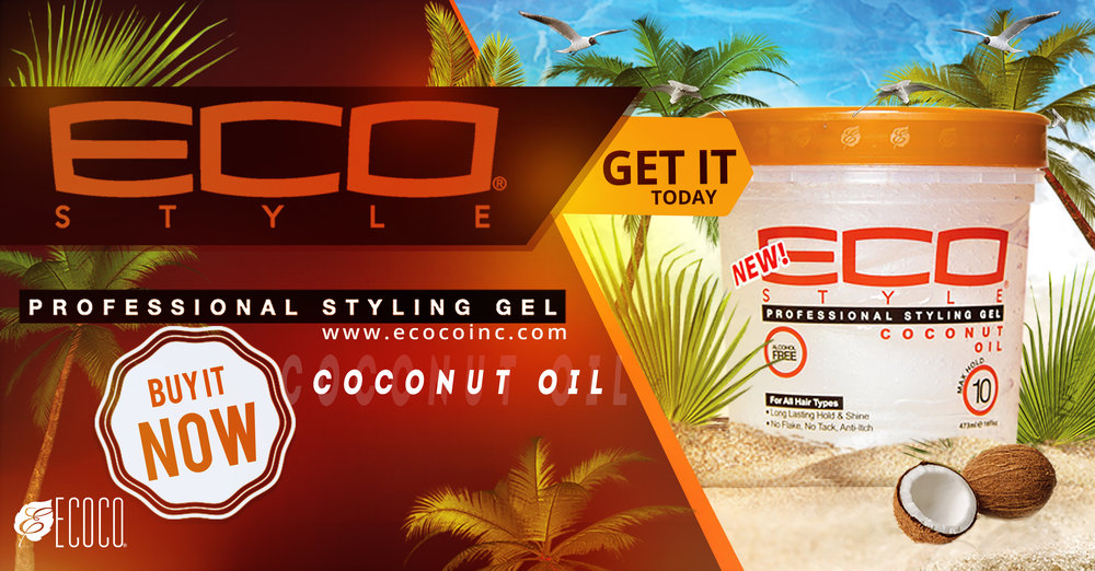 Eco Coconut oil Banner
