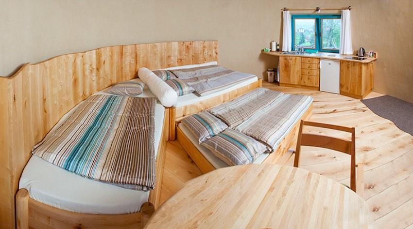 Apartmán Bříza pro 2-5 osob (standartní ubytování)