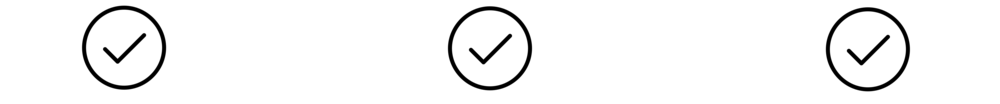 """Icons from  The Noun Project   """"Check"""" icon by Austin Condiff"""