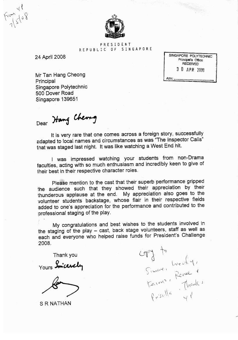 AIC President's Letter