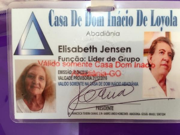 Elisabeth's Casa De Dom Inacio De Loyola Official Guide Badge