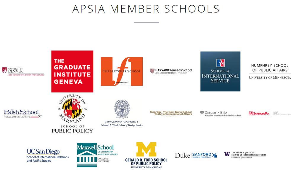 APSIA Schools