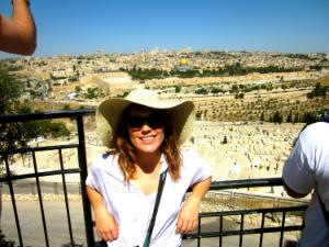 Natalie Forde in Jerusalem, Israel