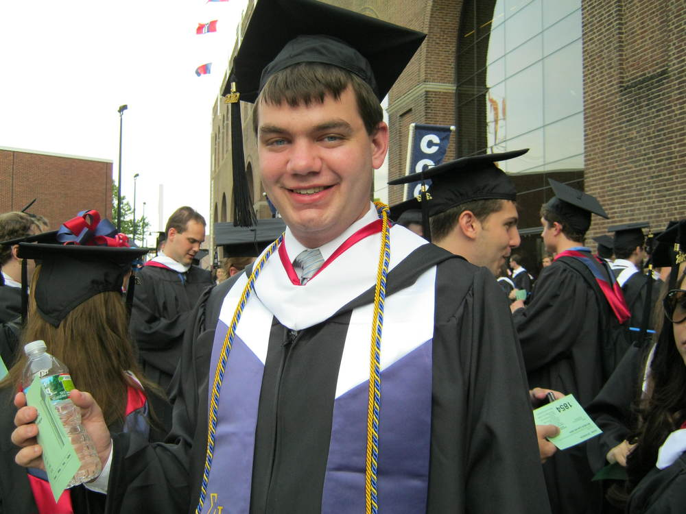 Ben Brockman Graduating with his BA from Penn