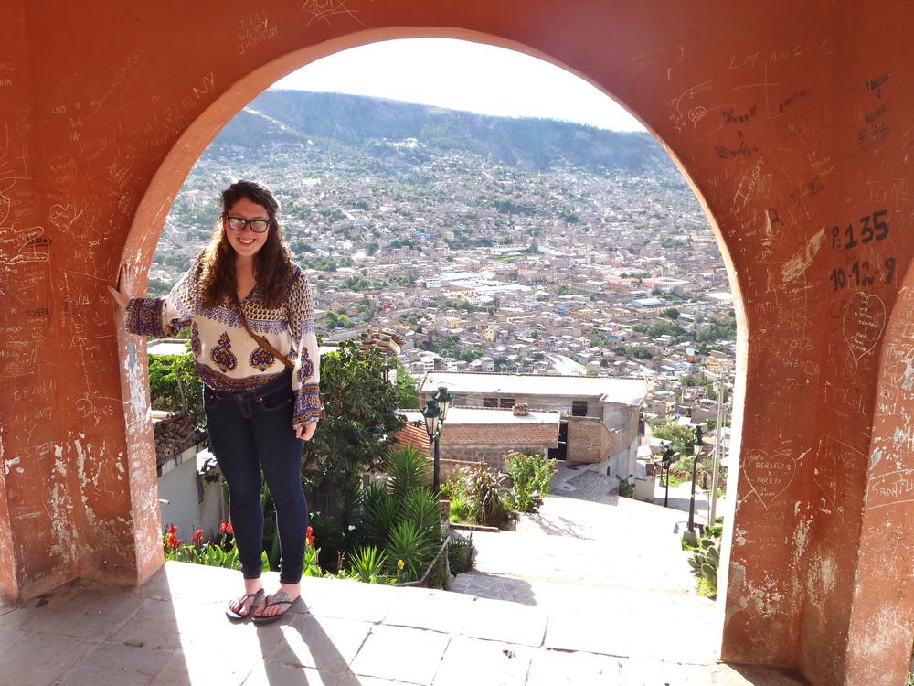 Caitlin Purdy in Ayacucho, Peru