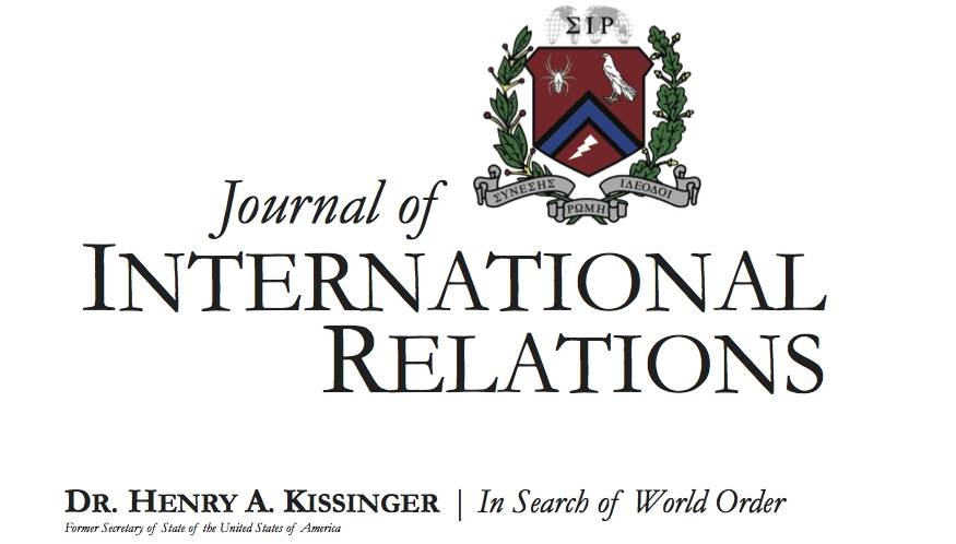 Journal of International Relations