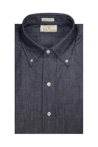 J Wingfield American Made Indigo Shirt