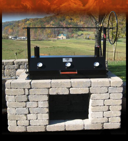 A GRILL BUILT FOR AMERICA  WITH 100% AMERICAN MADE PARTS