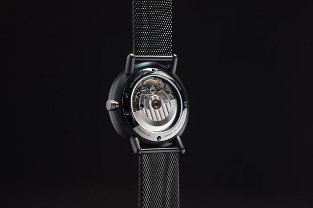 Back of ELEVEN our brand new automatic watch. Elegant dress watch with automatic movement. Pre-order in March & April with a substantial discount. Check link in the bio #automaticwatch #watchesofinstagram #swissmade #dutchdesign #saphirecrystal #watch