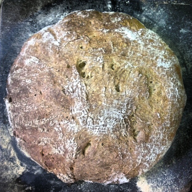 Coffee sourdough mark 2 (Taken with  Instagram )