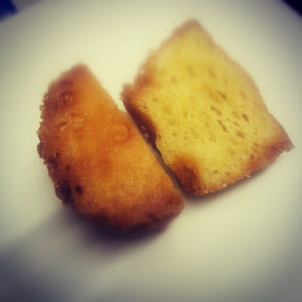 Fried microwave sponge (Taken with  Instagram )