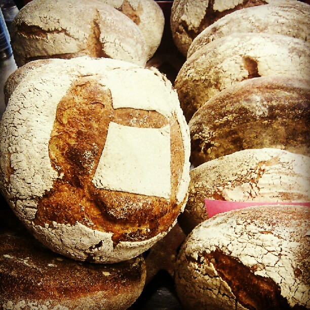 Whopping great delivery of St John sourdough bread at The Endurance