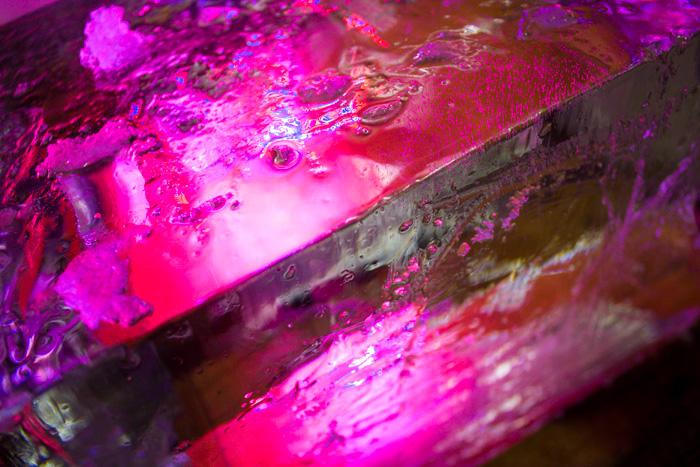 Ice Blocks and LEDs