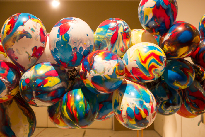 Balloons with essential oils inside