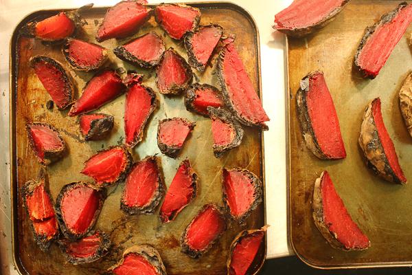 Charred beets