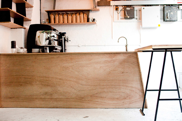 DunneFrankowski coffee bar at Prote.in Gallery