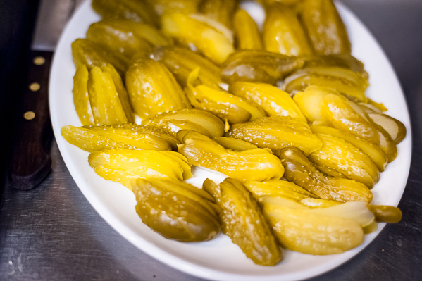 Dill pickles from Topolski