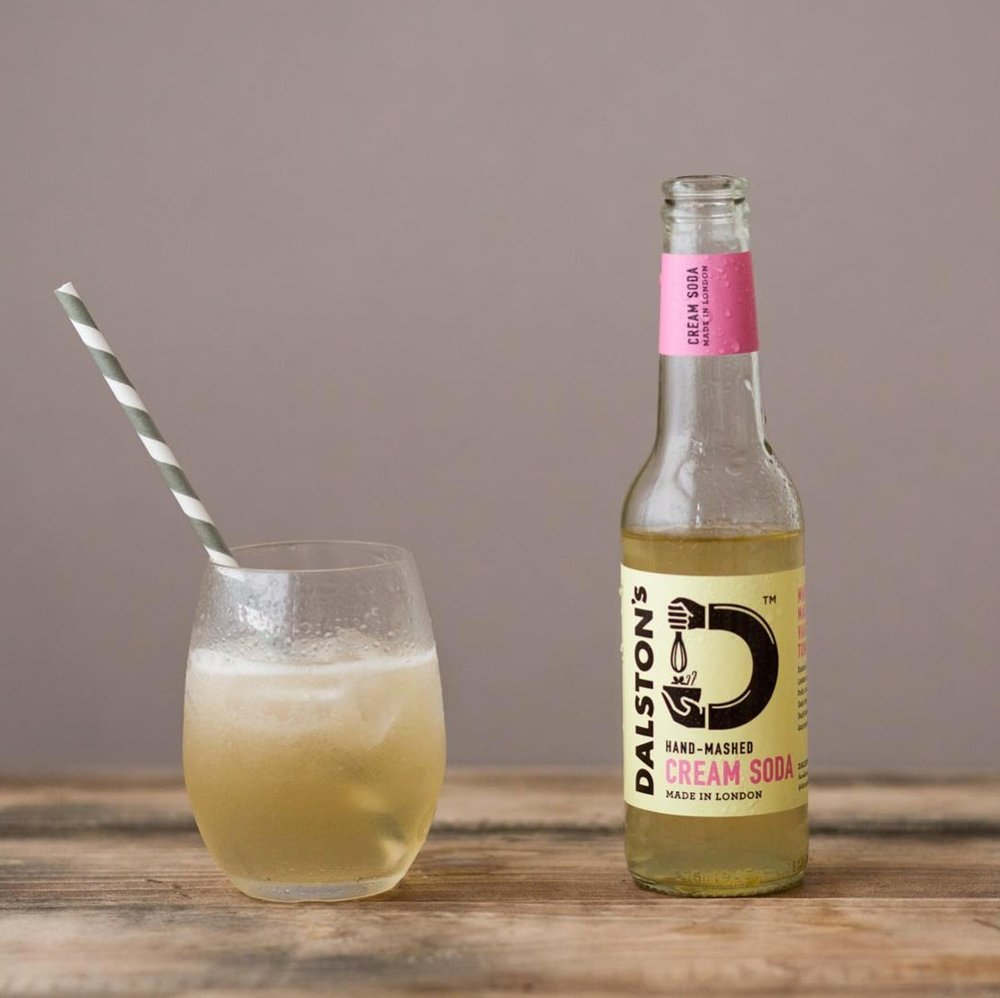 Cream Soda, with roasted hay, tonka bean and vanilla  (image - Dalston's)