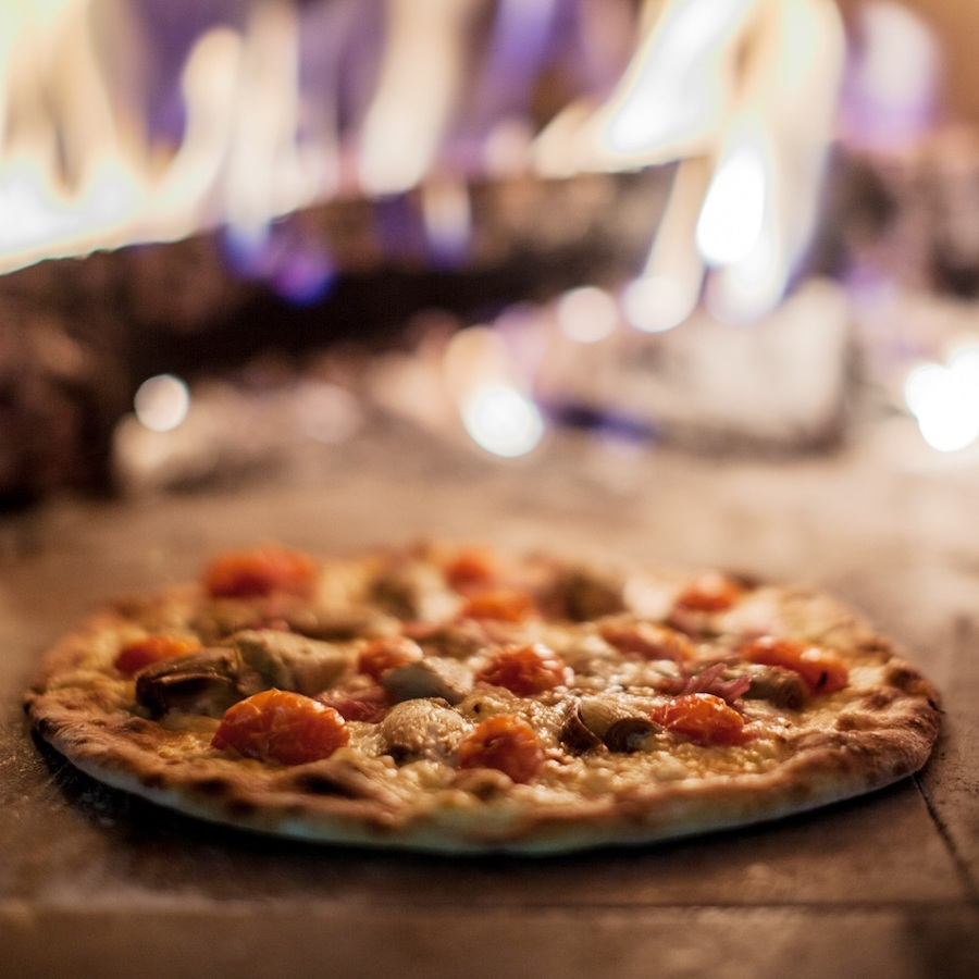 brick oven pizza - rivers street ale house