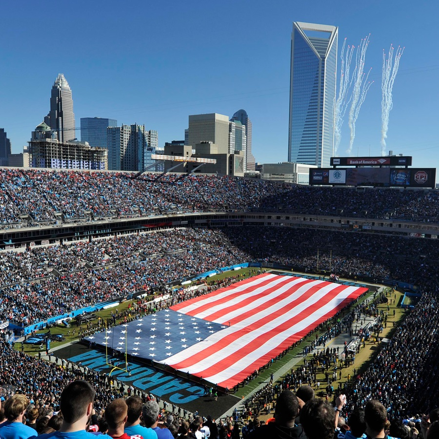 bank of america stadium - rivers street ale house