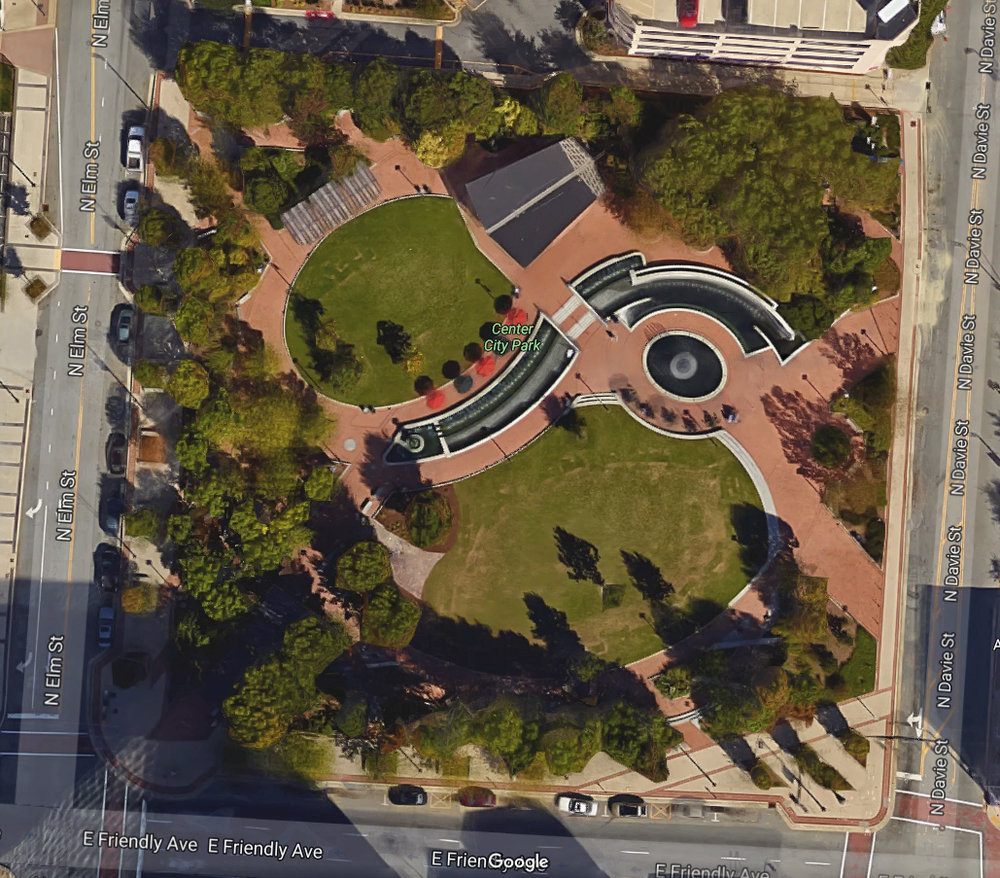 Center City Park in Greensboro, NC is the target site for the 2018 Truth Festival.