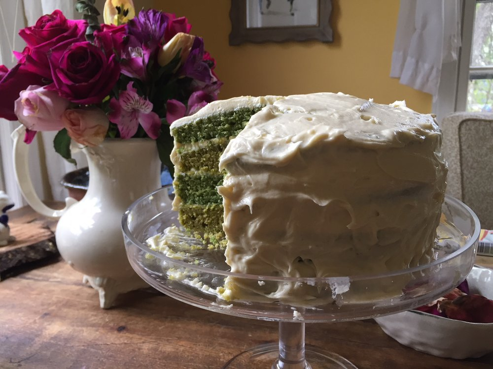 Nettle Cake