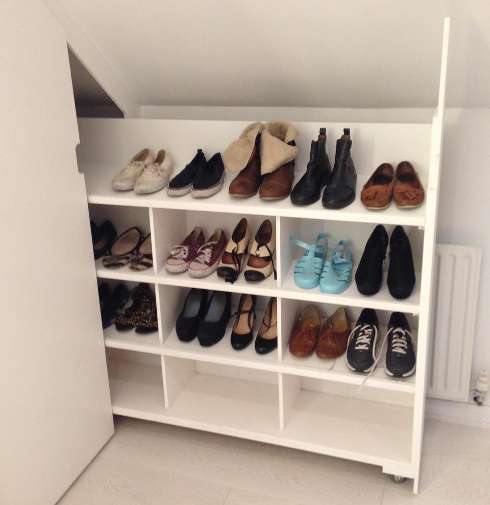 Sliding Shoe Storage