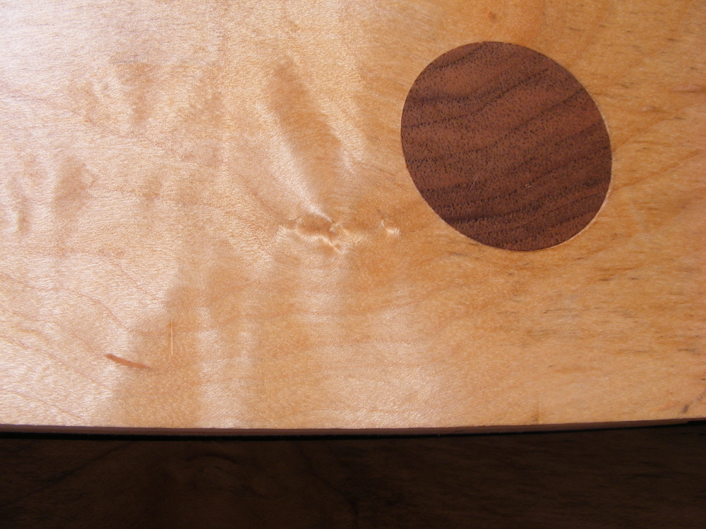 Walnut detailing