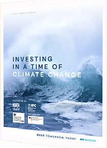 """Investing in a Time of Climate Change,"" Mercer, 2015."
