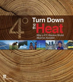 """Turn Down the Heat: Why a 4 degree C Warmer World Must be Avoided."" The World Bank, 2012."