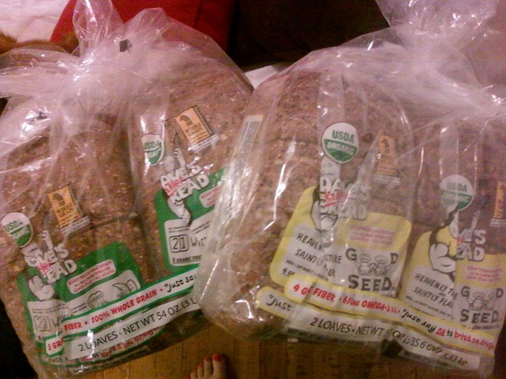 Look what came in the mail today!!!! I'm officially stocked up on some Dave's Killer Bread!! Thank you Kathy!! :) She also sent me all of Faith and her photos from our trip so if you have a Facebook I posted the rest of them on there!