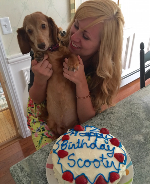 Anna Osgoodby NYC Living :: Scooter Turns 12