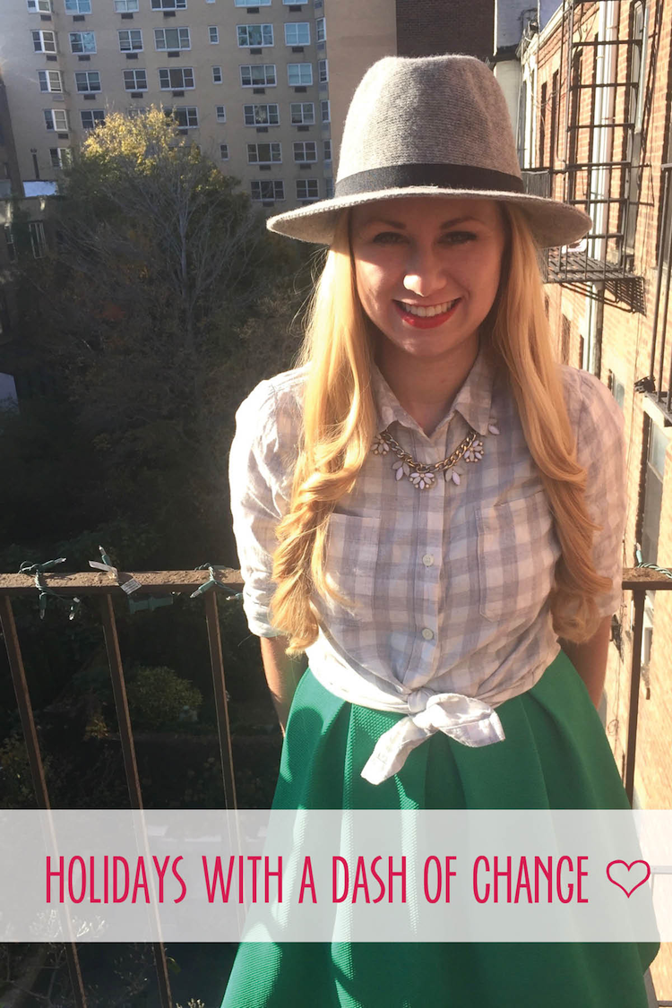 Anna Osgoodby NYC Living :: Holidays with a Dash of Change