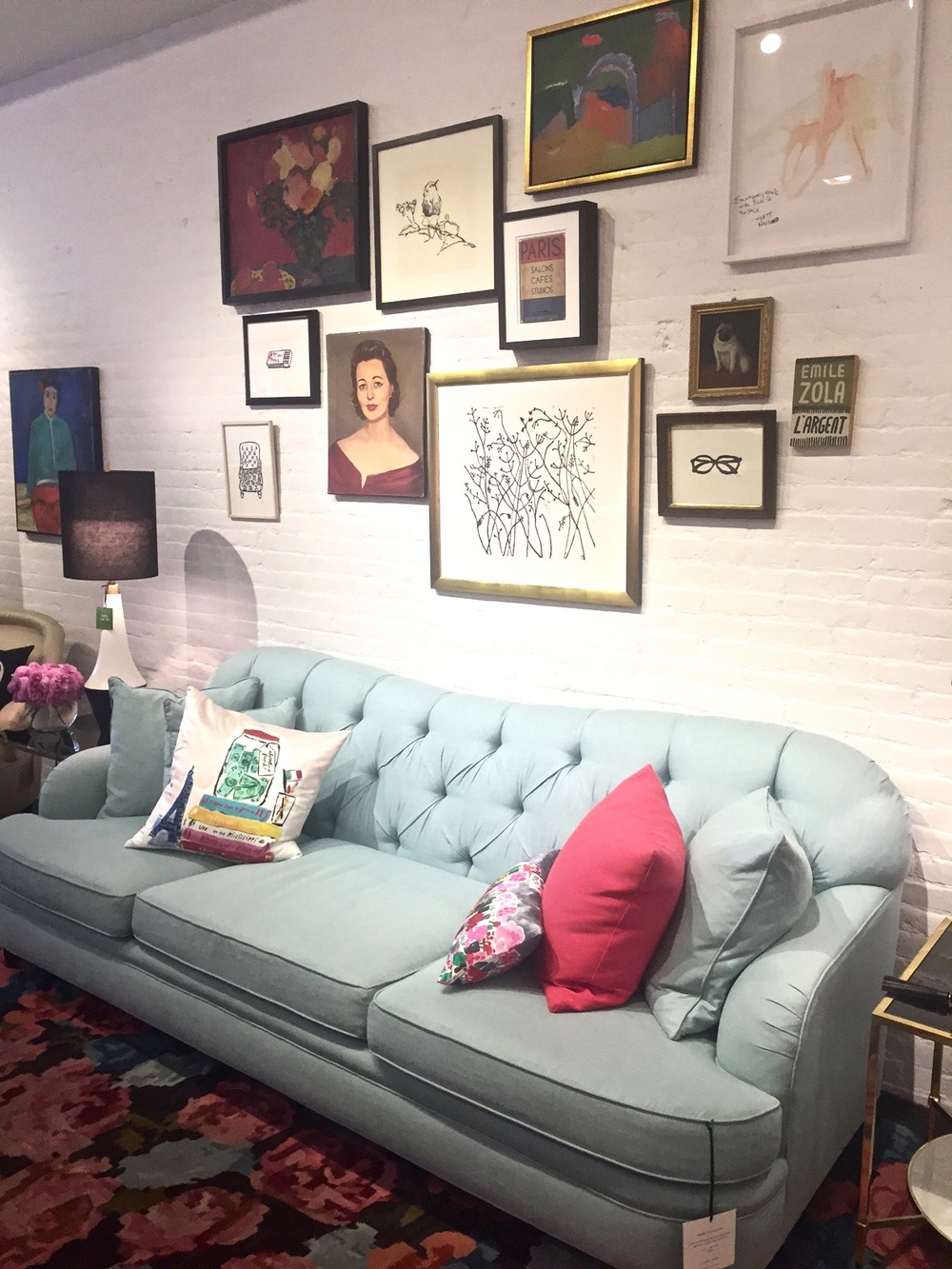 Anna Osgoodby NYC Living :: Kate Spade Home Pop-Up Shop