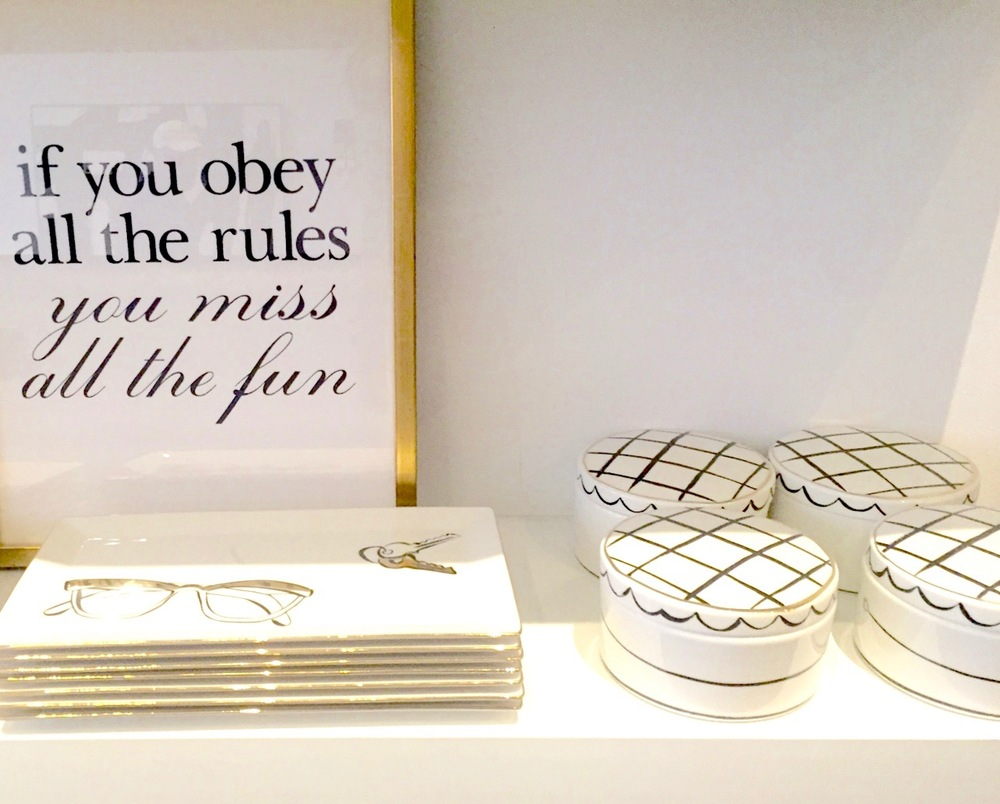 Anna Osgoodby Life + Design :: Kate Spade Home Pop-Up Shop