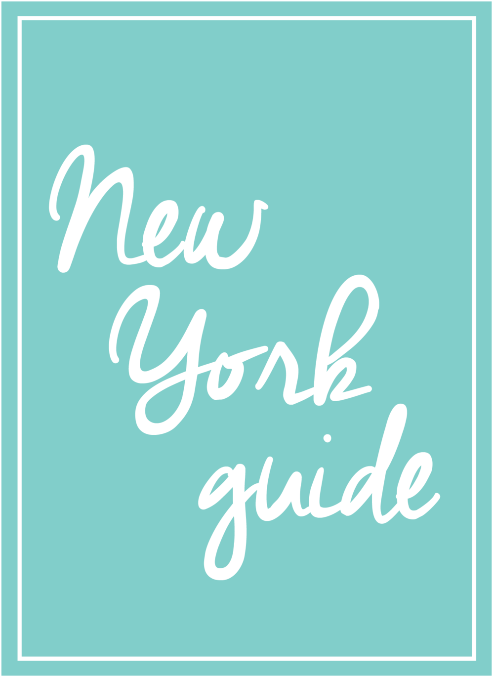 Anna Osgoodby Life + Design : NYC Guide