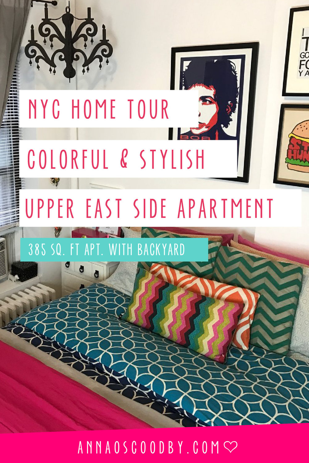 Anna Osgoodby Life + Design :: NYC Home Tour Colorful & Stylish Upper East Side Apartment